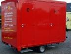 Moderner Toilettenwagen mit Komfort