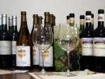 Erlesene Weine, auch aus biologischer Produktion