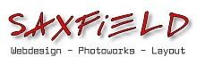 SAXFIELD: Webdesign - Photoworks - Layout